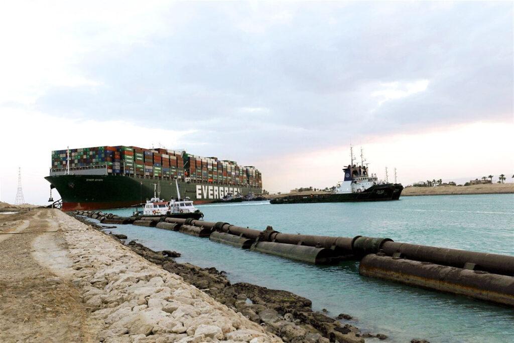 Suez canal blockade agrologistics shipping logistics sea freight